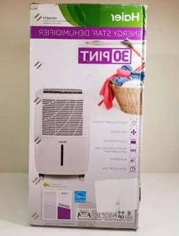 New Best Haier Dehumidifier HEN30ET-T 30 Pint Rolling Energy