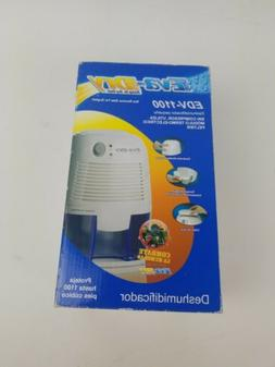 NEW IN BOX! EVA-DRY PETITE DEHUMIDIFIER EDV -1100 DAMP IN, D