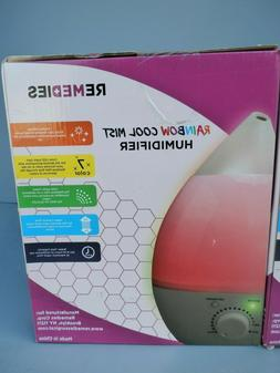 New Remedies Rainbow Cool Mist Color Changing Humidifier