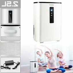 NEWEST 2.5L Ultra Quite Portable Air Dehumidifier For Home O