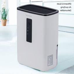 Portable Dehumidifier with UV Light for Home, Basement, A Ro