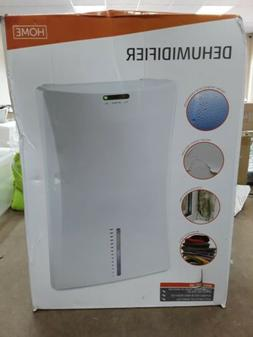 Portable Electric Dehumidifier Compact Automatic Shut Off Fo