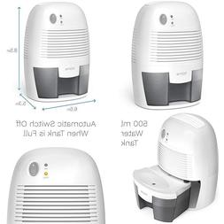 Homelabs Small Dehumidifier For 1200 Cu Ft  Bathroom Or Clos