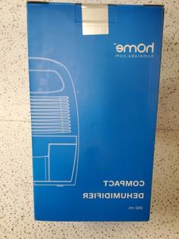 Homelabs Small Space Dehumidifier with Auto Shut Off 250 ml.