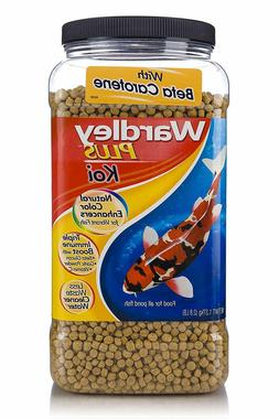 Wardley Plus Koi Color Enhancing Pond Fish Food Pellets - 2.