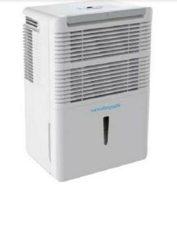 Keystone White High Efficiency 50-Pint Dehumidifier with Ele